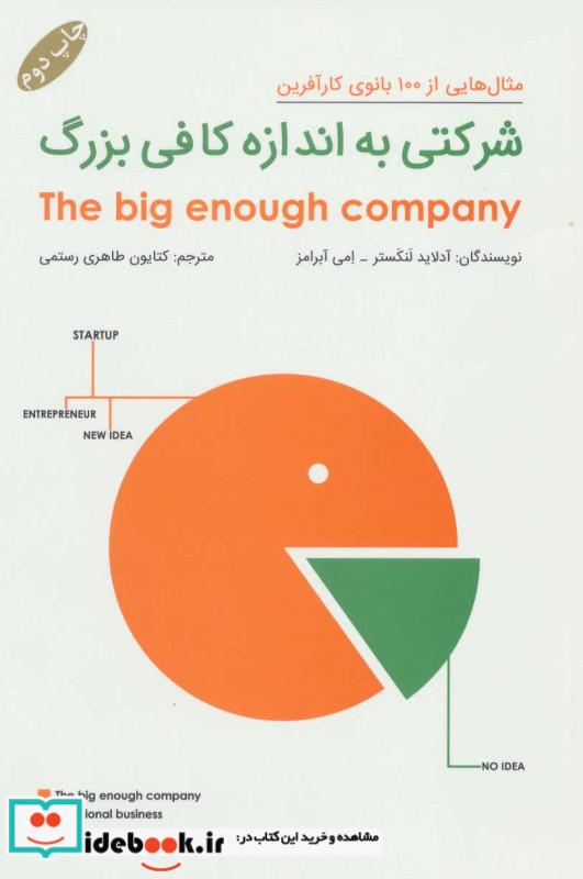 شرکتی به اندازه کافی بزرگ مثال هایی از 100 بانوی کارآفرین