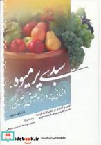 سبدی پر میوه،انبانی پر دانه و طبقی پر صیفی